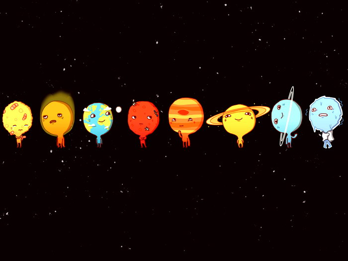 Solar-System-Planets-Funny-Space-Art-Wall-Print-