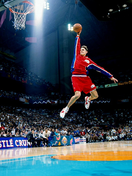 Brent Barry Free Throw Line Slam Dunk Contest