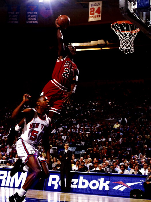 D6869 Michael Jordan Dunk Chicago Bulls NBA Basketball
