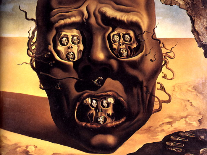 salvador dali the face of war essay Dalí the man a national  education resource introduction salvador dalí, the flamboyant catalan artist most commonly recognised for his vivid, unforgettable dreamscapes depicting an inner.