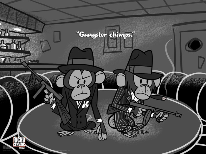 Tommy Gun Gangster Drawings Gangster Chimps Tommy ...