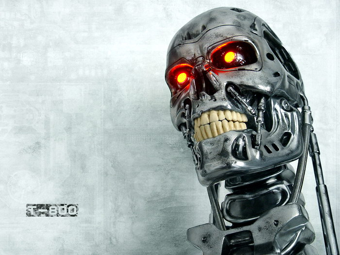 Terminator-T-800-Skeleton-Head-Movie-Print-POSTER-Affiche